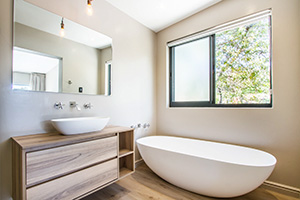 Hlangana Lodge Deluxe Room Bathroom